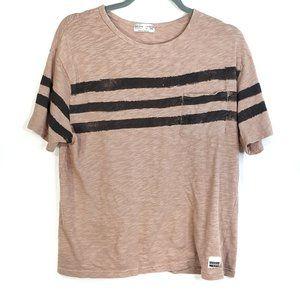 Zara Boys Short Sleeve Pocket Tee, Size 13/14